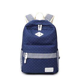 $enCountryForm.capitalKeyWord Canada - Korean High School Boys Schoolbag Backpack Canvas Laptop Fashion Women Bag Hot Fresh Traveling Shopping Bag for Gilrs