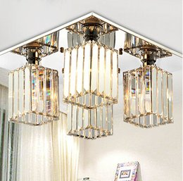 Crystal Lighting Chandeliers Modern Chandelier For Dining Table Living Room Lights Lustre On Sale