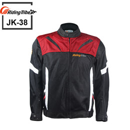 polyester mesh motorcycle jackets NZ - New arrival Super Speed Textile Motorcycle Jacket summer models mesh fabric breathable   Reflective at night
