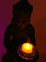 $enCountryForm.capitalKeyWord UK - Free Shipping 12pcs  lot Amber Pillar Flameless Votive led Candle Tea Light for Birthday Party Decor