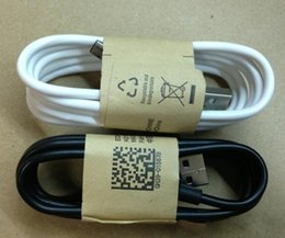 Wholesale Android data cable black white android pin Micro USB Cable For Samsung Android mobile phone