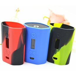 Discount eleaf silicone covers - 10pcs Istick 200w Silicone Case Silicon Cases Colorful Rubber Sleeve Protective Cover Skin For iSmoka Eleaf Istick 200 w