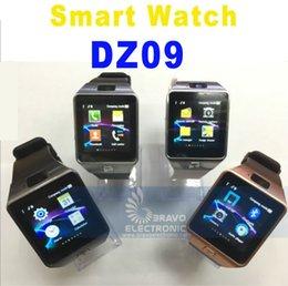 DZ09 Relógios Inteligentes Dz09 Relógios Wrisbrand Android iPhone Assista Inteligente SIM Inteligente Telefone Móvel Estado Do Sono relógio Inteligente Embalagem de Varejo venda por atacado