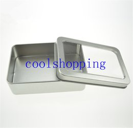 $enCountryForm.capitalKeyWord Canada - 10.7*7*3cm Open Window Metal Storage Cases, Tin Boxes Steel display packaging can pm