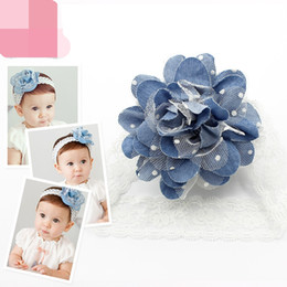 cowboy hair 2019 - 15% off! Retail 2016 new Fashion Infant Toddler Baby Headbands girl cowboy flower hair band kids hair accessories 10pcs