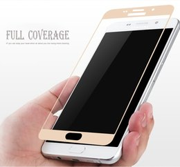 Tempered Glasses Samsung Canada - 9H Full Tempered Glass Screen For Samsung S6 Edge Screen Protector Film For Coating Glass Protective with crystal packaging