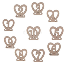 $enCountryForm.capitalKeyWord Canada - wedding table decorations ornaments heart numbers christmas Birthday Valentine's party table numbers restaurant numbers, 10 pc per lot