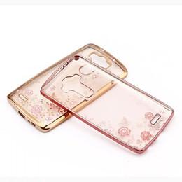 secret iphone 2019 - Bling Spot Diamond Secret Chrome Garden Flower Soft TPU Case Chromed Gel Skin For Galaxy S9 S8 Plus A3 A5 2017 C5 C7 C9