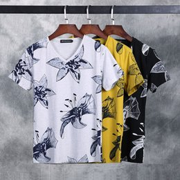 $enCountryForm.capitalKeyWord Canada - New Tops & Tees fashion design personality printing t-Shirts High-grade cotton round collar Short Sleeve men's T shirts size M-3XL