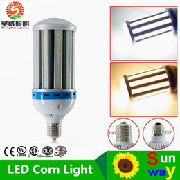 Discount emc fans - LED E40 100w Corn Bulb 11000LM 85V-277V LED Corn Light SMD 5730 E27 Built-in High Speed Cooling Fan Replacing 400W halog
