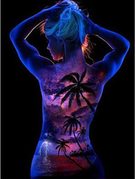 $enCountryForm.capitalKeyWord Canada - New Arrival 10ml Graffiti Party DIY Glow in the Dark Acrylic Luminous Paint Bright Pigment Party Makeup Decor 12 Colors WJ0981
