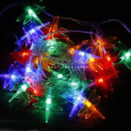 $enCountryForm.capitalKeyWord Canada - Dragonfly Lights LED Holiday Lighting Strings Christmas Lamp Garland Chandelier for New Year Fairy Wedding Garden Decoration