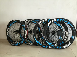 $enCountryForm.capitalKeyWord Canada - Blue FFWD F6R 50mm clincher bicycle wheels Carbon fiber fast forward road and racing cycling wheelset