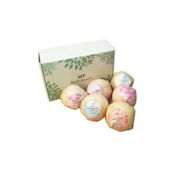 lavender bath bombs Canada - hot Bubble Bath Bombs Gift Set Rose Lavender Oregon Essential Oil Lush Fizzies Scented Sea Salts Balls Handmade SPA Gift