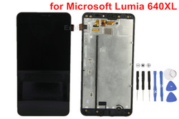 $enCountryForm.capitalKeyWord Canada - 1PCS OEM for Microsoft Nokia Lumia N640XL 640XL VS 640 N640 LCD Display + Touch Screen Digitizer assembly With Frame Glass Lens Test Passed