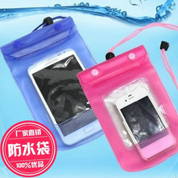 Discount apple cellphones - hot sale promotion Mobile phone waterproof sleeve cellphone bag A09-1-07 Tour swimming floating waterproof phone bag