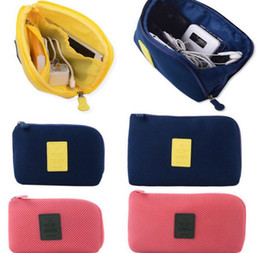 Discount Cable Organizer Travel Pouch   Electronic Accessories Cable USB  Drive Organizer Bag Case Portable Shockproof