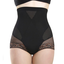 Wholesale-Sexy Women\'s Hot High Waist Trainer Body Shaper Butt Lifter Slimming Tummy Control Knickers Underwear