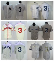 edeccdcfd New York Yankees 3 Babe Ruth Jersey Cooperstown 1929 Retro Babe Ruth  Baseball Mitchell And Ness ...