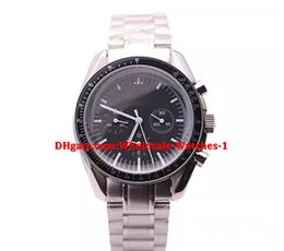 China Wholesale high quality luxury brand speed series 311 42mm black dial silver steel strap automatic mechanical men sports watch no chronograph supplier men limited watches chronograph suppliers