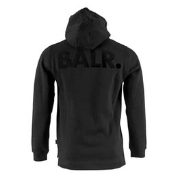 Sweat À Capuche Cool Pour Homme Pas Cher-BR33 2017 nouvelle mode Polaire BALÈDE Casual Unisexe Hoodies Sweat Cool Hip Pop Pull Hommes Sportwear Manteau Jogger Survêtement Mode