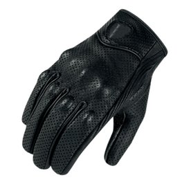 $enCountryForm.capitalKeyWord Australia - Top Leather motorcycle gloves summer motorbike protective Gear black harley Gloves Alpine Motocross Stars Gants