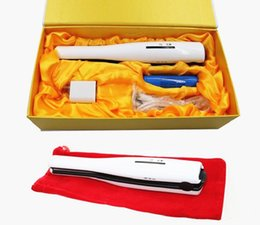 cordless rechargeable hair straightener Canada - New Arrival USB Power Hair Straightener Cordless Mini Rechargeable Straightener Travel Flat Iron Small Pocket Hair Curler DHL Free