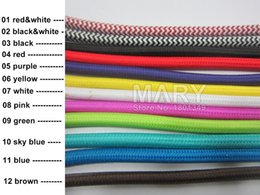cable lighting pendants. wholesale10 m vintage cable 2075 vde textile fabric electrical wire diy pendant light woven braided power cord lighting pendants l