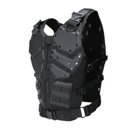China Outdoor Sports Outdoor Camouflage Body Armor Combat Assault Waistcoat Tactical Molle Children Vest Plate Carrier Vest NO06-023 cheap combat vests suppliers