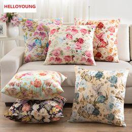BZ033 Luxury Cushion Cover Pillow Case Home Textiles Supplies Lumbar Pillow  Floral Shaped Decorative Throw Pillows Chair Seat Discount Floral Chair  Cushions