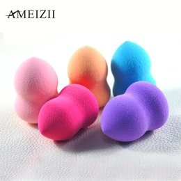 Barato Ferramentas Para Beleza Facial-Atacado- AMEIZII 1 Pcs Foundation Sponge Facial Makeup Sponge Cosmetic Puff Foolless Beauty Powder Puff Makeup Tools para rosto