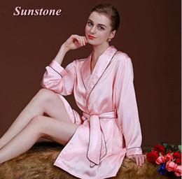 Sexy Women Silk Satin Robe Kimono Robes For Ladies Wedding Bride Bridesmaid  Sleepwear Nightgown Bathrobe Pajamas Dressing Gown Lingerie e0fe52c6ec12