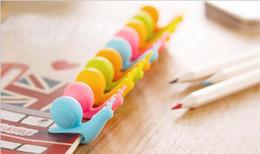 $enCountryForm.capitalKeyWord Canada - 3000pcs Fashion candy Color Cute Snail Shape Silicone Tea Bag Holder Cup Mug Candy Colors Gift D924