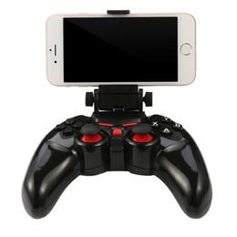 Nova tl-465 sem fio bluetooth controlador gamepad joystick android joystick para android ios pc com suporte de telefone celular gamepads