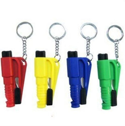 Auto Emergency Tools Australia - Mini 3 in 1 Seatbelt Cutter Emergency Hammer Glass Breaker Key Chain Smart AUTO rescue tool Safety Escape Lift Save SOS Whistle