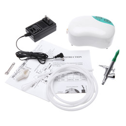 High Pressure Air Compressors Canada - Air Brush Set for Body Paint Makeup Craft Mini Spray Gun Single Action Air Compressor Cake Toy Models