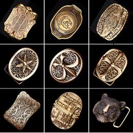 A Versão dos EUA do Cinto de Fivela De Cobre de Bronze de Couro de Chumbo De Couro Fivela de Prata Antigo Do Vintage de Moda Cinto De Fivela De Cu De Couro