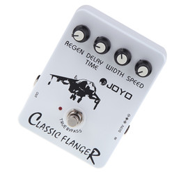 China JOYO JF-07 Classic Flanger Guitar Violao Effect Pedal with True Bypass Design for Musical Instrument Electric Guitar suppliers