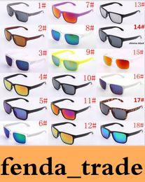 dc6135c7c3 MEJOR Venta caliente logotipo de la marca NO polarizado UV400 Gafas de sol  Hombres Mujeres Deporte Ciclismo Gafas Gafas Gafas Gafas 18 opciones de  colores