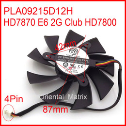Wholesale POWER LOGIC PLA09215D12H V A mm Pin Wire For Dataland HD7870 E6 G Club HD7800 Cooler Cooling Fan