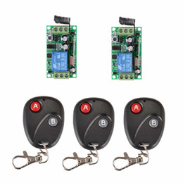 rf wireless remote control system Canada - Free shiiping DC12V 1CH RF 315MHZ  433MHZ remote control receiver rf wireless remote control switch system