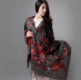 $enCountryForm.capitalKeyWord NZ - GIFT FOR MOTHER! Elegant Lady New Fashion Big Long Scarf Female Two-Side Printed Women Brand Wraps Hot Sale shawls and Scarves Muffler
