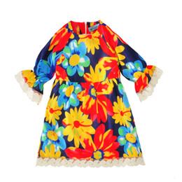 932b6cb47cf маленькие девочки платья дети платье партии одежды 2017 новая мода цветы  девушка платье высокое качество симпатичные цветочные дети девушка костюм