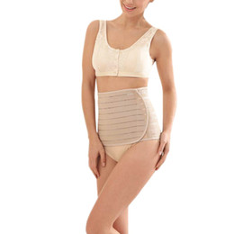Wholesale- Slimming Belt Womens Waist Cincher Body Shaper Girdle Adjustable Postpartum Tummy Tuck Shapewear