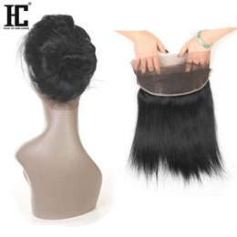 Chinese  22x4x2 360 Lace Frontal Closures Straight Ear To Ear Lace Frontal With Baby Brazilian Peruvian Malasian Indian Virgin Human Hair manufacturers