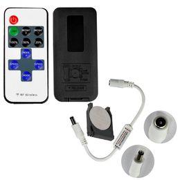 Опт Led диммер мини-контроллер беспроводной RF пульт дистанционного управления 2017 горячие продажа для одного цвета 5050 3528 полосы света 11 ключей диммер
