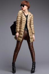 $enCountryForm.capitalKeyWord Canada - Down Parka Famous Brand Designer Winter Jacket Women Long Sleeve Duck Down coat Outwear Ultralight Hooded Thin Coat