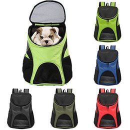 $enCountryForm.capitalKeyWord Canada - Freeshipping Portable Pet Dog Cat Puppy Travel Double Shoulder Backpacks Sport Travel Outdoor Pet Carrier Bag