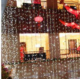 $enCountryForm.capitalKeyWord Canada - 6M x 2M 500 LED Outdoor Home Warm White Christmas Decorative xmas String Fairy Curtain Garlands Party Lights For Wedding