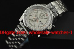 Discount platinum mens gifts - Wholesale - Luxury GT Motors Date Wrist Watch Gift Platinum High Quality Chronograph Mens Men's Watches